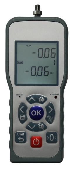 Backlight EP Series Digital Force Tester With Double LCD Display / USB Interface
